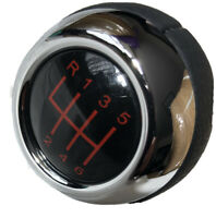 JCW Gear Knob 6 Speed Genuine Leather  From Mini R56 R57 R55 06-13 Brand New