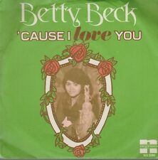 "Betty Beck Cause I Love You Part1 & Part 2 70`s Negram Holland 7"" Single"