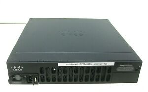 Cisco 4300 Series 4351 Integrated Services Router ISR4351/K9 Vo4