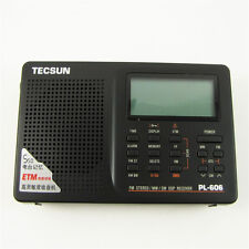 NEW Tecsun PL-606 Digital PLL Portable FM Stereo/SW/M​W Radio Receiver DSP