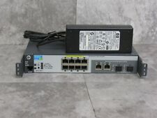 HP ProCurve J9137A 2520-8 POE Ethernet Network Switch + OEM J9701A AC Adapter