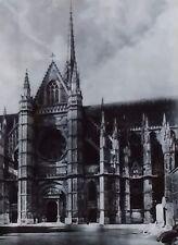 Cathédrale Sainte-Croix d'Orléans, France, Transept, Magic Lantern Glass Slide