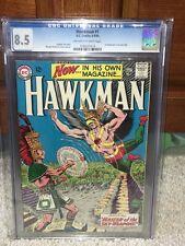 Hawkman #1 CGC 8.5 DC 1964 1st Hawkman in own title! Justice League! F4 116 cm