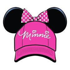 Disney Youth Hat Sassy Minnie with Ears Bow, Pink