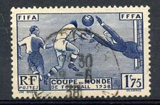 PROMO STAMP / TIMBRE FRANCE OBLITERE N° 396 COUPE DU MONDE DE FOOTBALL COTE 15 €