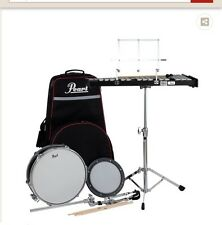 pearl percussion drum and bell kit purchased for $583 drum used once