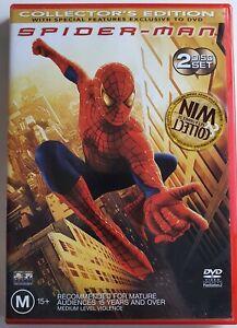 Spider-Man DVD 2x Disc Set Collectors Edition - R4 PAL