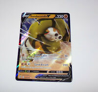 Pokemon - Sandaconda V - 108/192 - SWSH Rebel Clash - Half Art Brand new