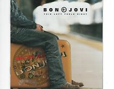 CD BON JOVI this left feels right CD + DVD LIMITED EDTION EX