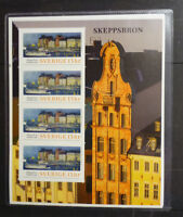 2016 SWEDEN OLD TOWN STOCKHOLM GAMLA STAN MINI SHEET MINT STAMPS