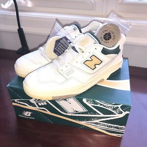 Aime Leon Dore NEW BALANCE 550 - Mens 12 Natural Green Basketball Oxford Shoe