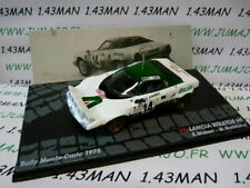 RIT3M 1/43 IXO Rallye Montar Carlo Lancia Stratos HF 1975 S. Munari / S Mannucci