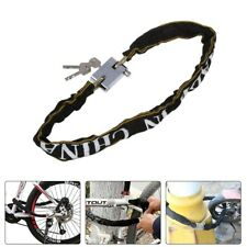 Heavy Duty Security Anti-theft Bike Chain Lock Bicycle Motorcycle Electrombile