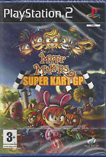 Ps2 PlayStation 2 «MYTH MAKERS: SUPER KART GP» nuovo sigill vers. import inglese
