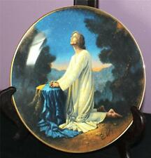 Vintage 1991 Franklin Mint The Life of Christ Series Agony in the Garden Plate