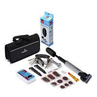 New Bicycle Repair Multi Tools Kit Set Mountain Bike Cycle Puncture Tyre Pump