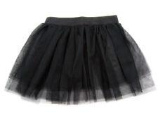 80's Fancy Dress Neon Black Tutu - Adults L/XL 12-18