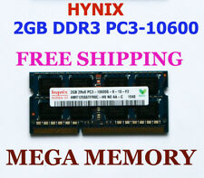 HYNIX 2GB DDR3 PC3-10600 1333MHz LAPTOP Memory Ram for MacBook and iMac
