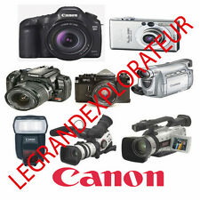 Ultimate Canon Digital Camera & Camcorder Repair Service Manual   510 PDF on DVD