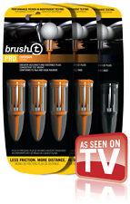 Brush-T Golf Tees 9Pk: 3xDriver & 6xOversize