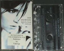 LISA SNOWDON FEELS SO GOOD ADDICTION CASSETTE maxi SINGLE