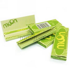 Moon Hemp Cigarette Rolling Papers 70*36mm 5 booklets=250 leaves Tobacco 1.0""