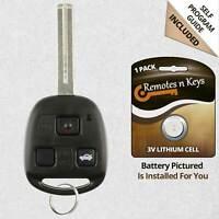 2x Car Transmitter Alarm Remote Key for 2002 2003 2004 Oldsmobile Bravada 8008