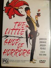 THE LITTLE SHOP OF HORRORS Jack Nicholson  New Unsealed B&W DVD R4