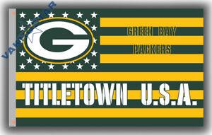 Green Bay Packers Titletown football Memorable flag 90x150cm3x5ft best banner