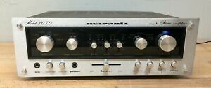 Marantz 1070 Integrated Amplifier - Tested/Serviced, Working.