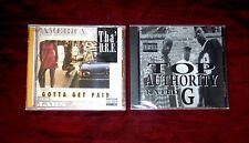 Lot 2 CD THA' D.R.E. – Gotta Get Paid / TOP AUTHORITY - Rated G G-funk Rare!!!