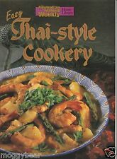 Easy Thai-Style Cookery  by Australian Women's Weekly  1999, Paperback Cookbook