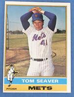 1976 Topps #600 TOM SEAVER (New York Mets) HOF Baseball Card