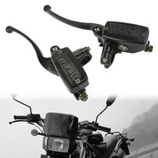 22mm 7/8 Motorcycle Handlebar Master Cylinder Hydraulic Brake + Clutch Lever
