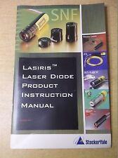Stocker Yale Lasiris Laser Diode Product Instruction Manual Version 4.1