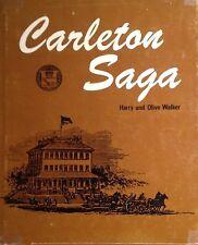2 Vols Canadian History Carleton County Ontario Ottawa