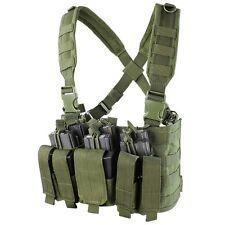 Condor OD MCR5 MOLLE 5.56 .223 Magazine Holster Rapid Assault Chest Rig Vest