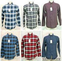 Croft&Barrow Mens The Extra Soft Long Sleeve Flannel Plaid Button Shirt New