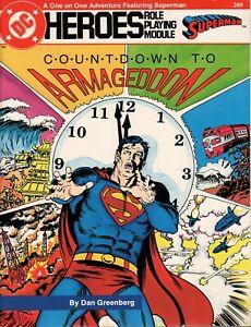 DC HEROES - COUNTDOWN TO ARMAGEDDON - RPM SUPERMAN - #209