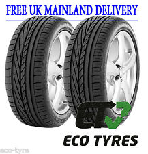 2X Tyres 245 45 R19 98Y GoodYear Excellence RFT Run Flat Tyre ROF E C 70dB