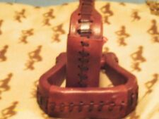 Stirrups X Wide Latigo Leather with Rawhide Accents