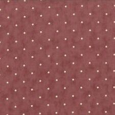 Plum sweet tissu points sur prune material 2738-14 dotty moda blackbird designs