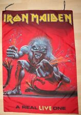 Iron Maiden, A Real LIVE One, 1993 Vintage Fahne, Flagge, Banner, rar, rare