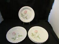"Mikasa April Rose Salad Or Dessert Plates Set Of 4 Size 7 3/4"" April Rose China"