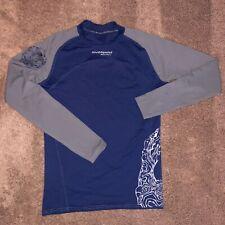 Lg Stohlquist Water Ware Men Core Long-sleeved Shirt Blue/Gray Heater Swim Surf