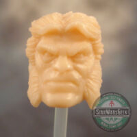 "ML222 Custom Sculpt Cast Sabretooth head use w/6"" Marvel Legends"