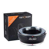 K&F Lens Mount Adapter for Minolta MD MC to Micro 4/3 Olympus PEN Panasonic GH4