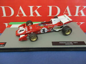 Die cast 1/43 Modellino Auto F1 Ferrari 312 B2 1971 J. Ickx