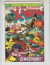 "X-Men 95 VF- (7.5) 9/75 ""Warhunt!"" 3rd New X- Men! Death of Thunderbird!"