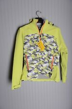 DICKIES PERFORMANCE SYSTEM PROTECT Womens L Coat Jacket CAMO NEON YELLOW Winter